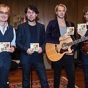 NLD/Hilversum/20131107 - CD presentatie 3J's ,Bart Herman, Jan Dulles, Jaap Kwakman, Jan de Witte,   met de cd dichter bij de horizon