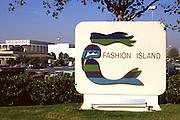Fashion Island Of Newport Beach Circa 1984