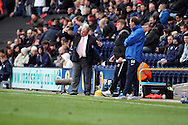 Rotherham United's Manager Steve Evans (l) and Preston North End's Manager Simon Grayson directing play. Skybet football league one play off semi final, 1st leg match, Preston North End v Rotherham United at the Deepdale Stadium in Preston, England on Saturday 10th May 2014.pic by Chris Stading, Andrew Orchard sports photography.