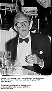 Vincent Price  during a party hosted by Billy McCarty-Cooper for Jean Howard's Hollywood book. Los Angeles. 1989. Film.89329/33<br /><br />© Copyright Photograph by Dafydd Jones<br />66 Stockwell Park Rd. London SW9 0DA<br />Tel 0171 733 0108