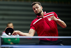 Patryk CHOJNOWSKI of Poland plays final match during Day 4 of SPINT 2018 - World Para Table Tennis Championships, on October 20, 2018, in Arena Zlatorog, Celje, Slovenia. Photo by Vid Ponikvar / Sportida