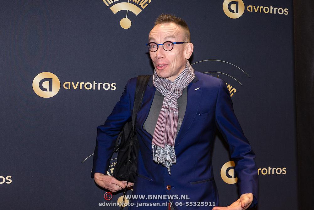 NLD/Hilversum/20170119 - Start inloop 11de Radio Gala 2016, Dolf Jansen