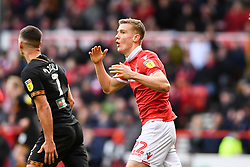 March 9, 2019 - Nottingham, England, United Kingdom - Ryan Yates (22) of Nottingham Forest reacts after a missed chance at goal during the Sky Bet Championship match between Nottingham Forest and Hull City at the City Ground, Nottingham on Saturday 9th March 2019. (Credit Image: © Jon Hobley/NurPhoto via ZUMA Press)