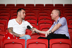 Bristol City's new signing Lee Tomlin is interviewed ahead of their 2016/17 Sky Bet Championship Campaign - Mandatory byline: Rogan Thomson/JMP - 04/07/2016 - FOOTBALL - Ashton Gate Stadium - Bristol, England - Bristol City New Signings.