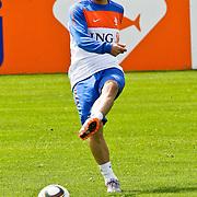 AUS/Seefeld/20100530 - Training NL Elftal WK 2010, Raphael van der Vaart