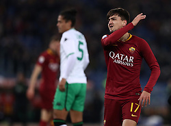 December 26, 2018 - Rome, Italy - As Roma v Us Sassuolo - Serie A..Cengiz Under of Roma after a missed goal at Olimpico Stadium in Rome, Italy on December 26, 2018. (Credit Image: © Matteo Ciambelli/NurPhoto via ZUMA Press)