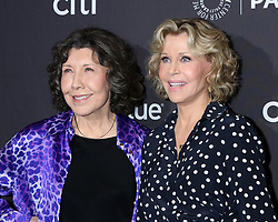March 16, 2019 - Los Angeles, California, U.S. - LILY TOMLIN and JANE FONDA at the PaleyFest - ''Grace and Frankie'' Event at the Dolby Theater in Los Angeles. (Credit Image: © Kay Blake/ZUMA Wire)