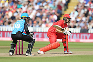 Lancashires Jos Buttler (Wicket Keeper) during the Vitality T20 Finals Day semi final 2018 match between Worcestershire Rapids and Lancashire Lightning at Edgbaston, Birmingham, United Kingdom on 15 September 2018.