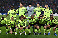 Photo: Maarten Straetemans/Sportsbeat Images.<br /> Shalke 04 v Chelsea. UEFA Champions League. 06/11/2007.<br /> Chelsea team