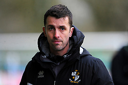 Port Vale caretaker manager Danny Pugh- Mandatory by-line: Nizaam Jones/JMP - 16/01/2021 - FOOTBALL - innocent New Lawn Stadium - Nailsworth, England - Forest Green Rovers v Port Vale - Sky Bet League Two
