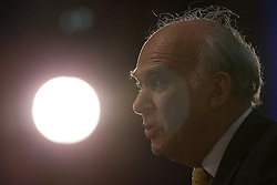 © Licensed to London News Pictures . 06/10/2014 . Glasgow , UK . VINCE CABLE , Secretary of State for Business, Innovation and Skills delivers his main speech to the conference this afternoon (Monday 6th October 2014) . The Liberal Democrat Party Conference 2014 at the Scottish Exhibition and Conference Centre in Glasgow . Photo credit : Joel Goodman/LNP