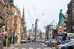 George Street. Edinburgh on the day after the Lockdown.
