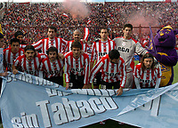 ESTUDIANTES de La Plata team during their Argentine First Division soccer match Vs. HURACAN in Buenos Aires June 01, 2008.<br /> © PikoPress