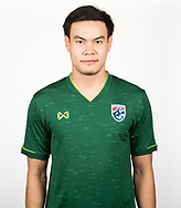 THAILAND - MARCH 18: Worawut Srisupa of Thailand National Football Team Photoshoot on March 18, 2019.<br /> .<br /> .<br /> .<br /> (Photo by: Naratip Golf Srisupab/SEALs Sports Images/MB Media Solutions)