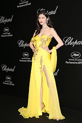 May 18, 2019 - Cannes, France - Sui He. ''Love'' party Chopard in Cannes 2019.. Pictures: Laurent Guerin / EliotPress Set ID: 600942....239424 2019-05-17  Cannes France. (Credit Image: © Laurent Guerin/Starface via ZUMA Press)
