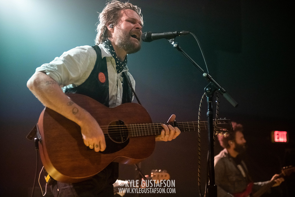 WASHINGTON, DC - January 15, 2020 - Hiss Golden Messenger singer MC Taylor performs at the 9:30 Club in Washington, D.C. with guitarist Chris Boerner. (Photo by Kyle Gustafson / For The Washington Post)