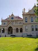View of The Parliamentary Library in Wellington, New Zealand.