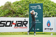 Joakim Lagergren (SWE) on the 2nd during Round 1 of the Oman Open 2020 at the Al Mouj Golf Club, Muscat, Oman . 27/02/2020<br /> Picture: Golffile   Thos Caffrey<br /> <br /> <br /> All photo usage must carry mandatory copyright credit (© Golffile   Thos Caffrey)