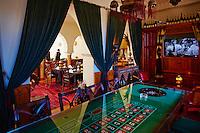 Maroc, Casablanca, Ricks Cafe, replique du cafe du film Casablanca // Morocco, Casablanca, Rick s Cafe, Casablanca movie replica