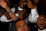 Students from Fortismere School enjoying prom night at Allure night Club in Muswell hill.<br /> In recent years American style prom nights to celebrate graduation from high School have been gaining popularity in the UK. These pictures are part of a set  commissioned for the Times magazine that  look at this teenage rite of passage across three schools in the UK.