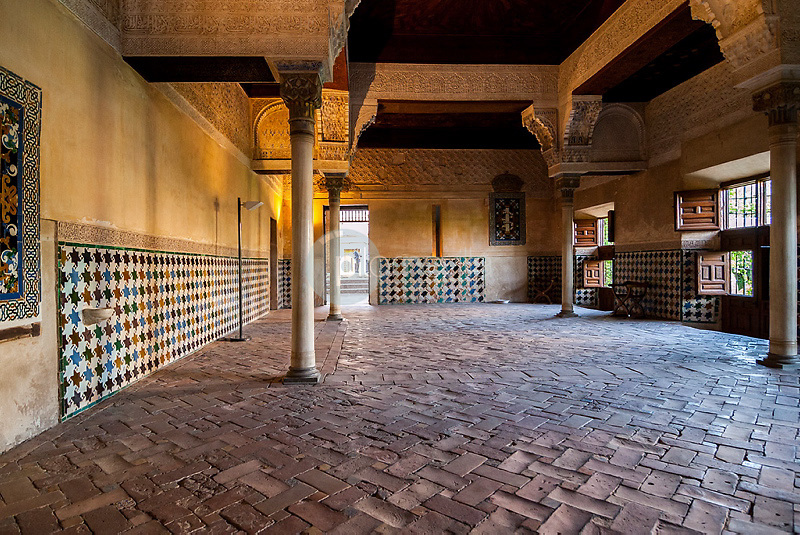 Detalle sala de la Alhambra de Granada. Andalucia. España. Europa ©Country Sessions / PILAR REVILLA