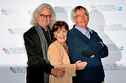 Quartet Photocall with Dustin Hoffman, Billy Connolly, Pauline Collins, Sir Tom Courtenay, Sheridan Smith, Maggie Smith, ahead of tonight's London Film Festival screening of comedy drama about four ageing opera singers. The Empire Cinema, London, United Kingdom, October 15, 2012. Photo by Chris Joseph / i-Images..