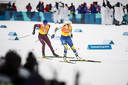 February 17, 2018 - Pyeongchang, Sydkorea - Ebba Andersson - Sweden..Women's Cross Country skiing 4x5km Relay, PyeongChang 2018 Olympic Games, 2018-02-17..(c) ORRE PONTUS  / Aftonbladet / IBL BildbyrÃ¥....* * * EXPRESSEN OUT * * *....AFTONBLADET / 85527 (Credit Image: © Orre Pontus/Aftonbladet/IBL via ZUMA Wire)