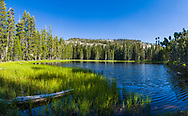 Siesta Lake, in the high country of Yosemite National Park, California in the fall. (Ultra-high resolution)