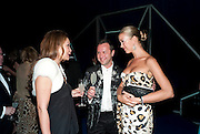 MIRA ANAFINI; DANIEL ZAKHAROY; YULIA OBUKHOVA, Grey Goose character and cocktails. The Elton John Aids Foundation Winter Ball. off Nine Elms Lane. London SW8. 30 October 2010. -DO NOT ARCHIVE-© Copyright Photograph by Dafydd Jones. 248 Clapham Rd. London SW9 0PZ. Tel 0207 820 0771. www.dafjones.com.