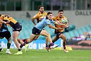 Alex Newsome. NSW Waratahs v ACT Brumbies. 2021 Super Rugby AU Round 7 Match. Played at Sydney Cricket Ground on Friday 2 April 2021. Photo Clay Cross / photosport.nz