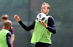 England's Harry Kane during the training session at the Spartak Zelenogorsk Stadium, Repino.