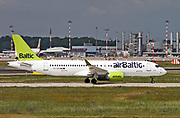 YL-CSF Air Baltic Bombardier CSeries CS300 (BD-500-1A11) at Malpensa (MXP / LIMC), Milan, Italy