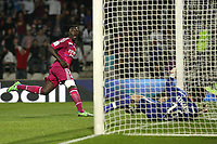 FOOTBALL - FRENCH CHAMPIONSHIP 2011/2012 - L1 - OLYMPIQUE LYONNAIS v AS NANCY  - 15/10/2011 - PHOTO EDDY LEMAISTRE / DPPI - BAFE GOMIS GOAL