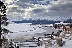 Salmon River, Sawtooth Range, Stanley, Idaho