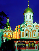Russian Orthodox Church in Red Square, Moscow, Russia