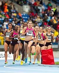 adidas Grand Prix Diamond League professional track & field meet: womens 1500 meters, Sheila Reid, Canada