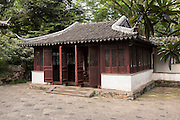 Pavilion in the Humble Administrator's garden in Suzhou, China.