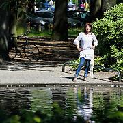 NLD/Laren/20120810 - Jose Hoebee in park Laren,