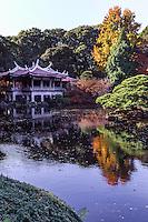 Shinjuku Gyoen Goryu-tei Pavilion
