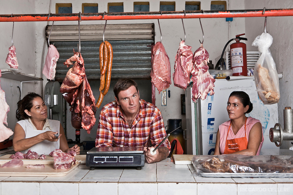 Portrait photography - Chuck Hughes, Chuck's Week Off Mexico. 2011.