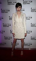 Chanel Joan Elkayam at the TriForce Short Film Festival gala ceremony, BFI Southbank, London, UK - 30 Nov 2019