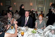 STEPHEN FRY; VIVIENNE WESTWOOD, Graydon Carter hosts a dinner to celebrate the reopening og the American Bar at the Savoy.  Savoy Hotel, Strand. London. 28 October 2010. -DO NOT ARCHIVE-© Copyright Photograph by Dafydd Jones. 248 Clapham Rd. London SW9 0PZ. Tel 0207 820 0771. www.dafjones.com.