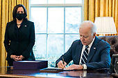 March 11, 2021 (DC): President Biden Signs American Rescue Plan Into Law