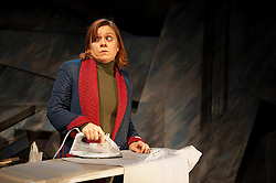 (c) London News Pictures. 16/11/2011. Lizzie Roper as 'Ruth', in production of 'The Biting Point' by Sharon Clark. Performed and produced by Theatre503 at The Latchmere in Battersea. Picture credit should read: Tony Nandi/London News Pictures