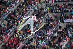 05.02.2017, Heini Klopfer Skiflugschanze, Oberstdorf, GER, FIS Weltcup Ski Sprung, Oberstdorf, Skifliegen, im Bild Lukas Hlava (CZE) // Lukas Hlava of Czech Republic during mens FIS Ski Flying World Cup at the Heini Klopfer Skiflugschanze in Oberstdorf, Germany on 2017/02/05. EXPA Pictures © 2017, PhotoCredit: EXPA/ Peter Rinderer