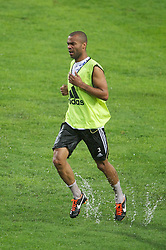 23.07.2011, Rajamangala National Stadium, Bangkok, THA, Chelsea FC Asia Tour, Training, im Bild // Chelsea's Ashley Cole during a training session at Rajamangala National Stadium in Bangkok on the club's preseason Asia Tour, EXPA Pictures © 2011, PhotoCredit: EXPA/ Propaganda/ D. Rawcliffe *** ATTENTION *** UK OUT!