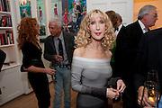 BASIA BRIGGS, Mrs. Richard Briggs at home.  Sloane Gardens. London. 20 October 2011. <br /> <br />  , -DO NOT ARCHIVE-© Copyright Photograph by Dafydd Jones. 248 Clapham Rd. London SW9 0PZ. Tel 0207 820 0771. www.dafjones.com.