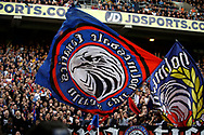 Crystal Palace fans during the Premier League match between Crystal Palace and Hull City at Selhurst Park, London, England on 14 May 2017. Photo by Andy Walter.