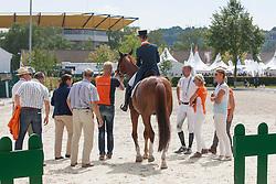 Cornelissen Adelinde (NED) - Jerich Parzival<br /> Preis der Familie Tesch <br /> Lambertz Nations Cup<br /> Weltfest des Pferdesports CHIO Aachen 2014<br /> © Hippo Foto - Dirk Caremans