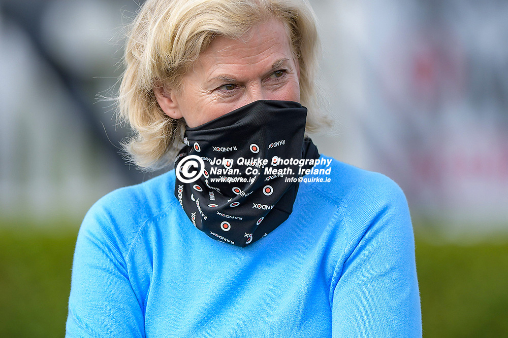 Trainer, Mrs Denise Foster ,  at Bellewstown Races.<br /> <br /> Photo: GERRY SHANAHAN-WWW.QUIRKE.IE<br /> <br /> 03-07-2021